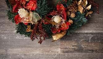 Подборка красивых рождественских и новогодних фонов