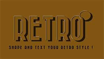 Ретро стили для оформления текста