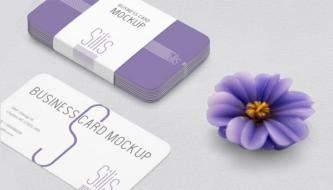 Бесплатная подборка mock-up файлов визиток