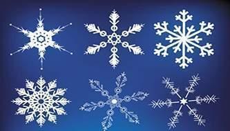бесплатная подборка бесплатных паттернов (узоров) на тему снежинки.