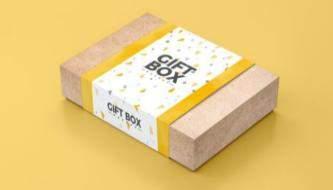 Подборка mock-up файлов упаковка для продуктов и коробки