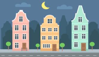 Бесплатная подборка векторных зданий