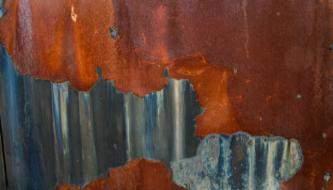 Текстуры на тему покрашенная ржавая металлическая стена