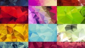Подборка полигональных текстур высокого разрешения для ваших работ