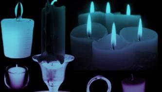 Коллекция кистей для Фотошоп - Свечи